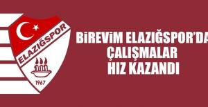 Birevim Elazığspor'da Çalışmalar Hız Kazandı