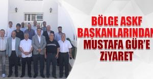 Bölge ASKF Başkanlarından Mustafa Gür'e Ziyaret