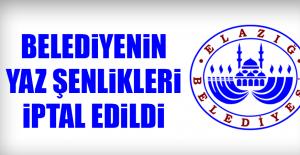 Elazığ Belediyesi Yaz Şenliklerini...