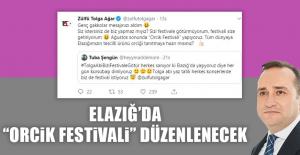 """Elazığ'da """"Orcik Festivali"""" Düzenlenecek"""