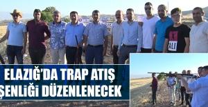 Elazığ'da Trap Atış Şenliği Düzenlenecek