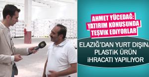 Elazığ'dan Yurt Dışına Plastik Ürün İhracatı Yapılıyor
