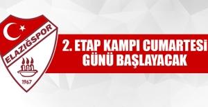 Elazığspor'da Erzurum Kampı Cumartesi Günü Başlayacak