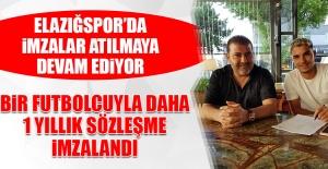 Elazığspor'da İmzalar Atılmaya Devam Ediyor