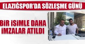 Elazığspor'da Bir İsimle Daha İmzalar Atıldı