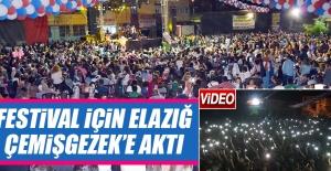 Festival İçin Elazığ Çemişgezek'e Aktı