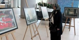 """İstanbul Havalimanı'nda """"15 Temmuz"""" fotoğraf sergisi"""