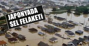 Japonya'da Sel! 800 Bin Kişi Tahliye Edildi