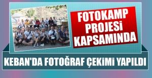 Keban'da Fotoğraf Çekimi Yapıldı
