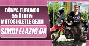 """Motosikletli Kadından """"Kanser Farkındalık Turu"""""""
