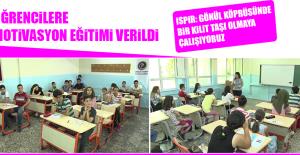 Öğrencilere Motivasyon Eğitimi Verildi