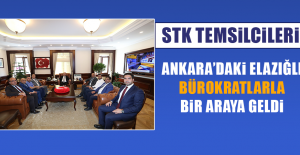 STK Temsilcilerinin Ankara Ziyareti