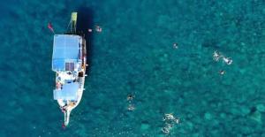 Türkiye'nin Maldivleri'nde Aşk Mağarası Büyük İlgi Topluyor
