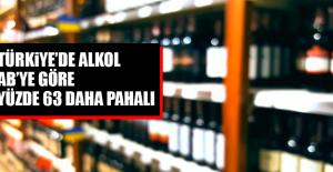 Türkiye'de Alkol AB'ye Göre Yüzde 63 Daha Pahalı