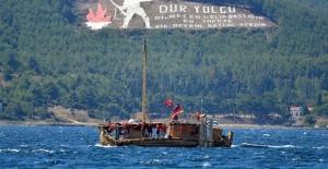 Antik dönemin izlerini taşıyan Abora-IV gemisi Çanakkale'de