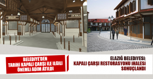 Belediyeden Tarihi Kapalı Çarşı...