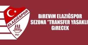 """Birevim Elazığspor, Sezona """"Transfer Yasaklı"""" Girecek"""