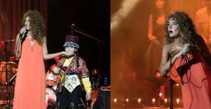 Bodrum'da konser veren Sıla'nın sahne öncesi elbisesine yağ döküldü