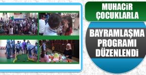 Çocuklarla Bayramlaşma Programı Düzenlendi
