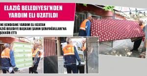 Elazığ Belediyesi'nden Yardım Eli Uzatıldı