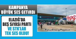 Elazığ'da Beş Siyasi Parti ve STK'lar Tek Ses Oldu