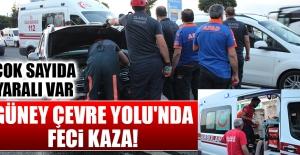 Elazığ Güney Çevre Yolu'nda Feci Kaza!