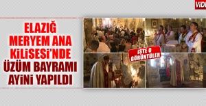 Elazığ Meryem Ana Kilisesi'nde Ayin Düzenlendi