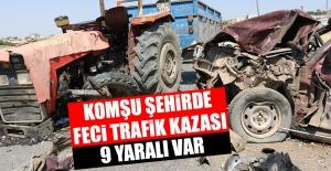 Feci Trafik Kazası! 9 Yaralı Var