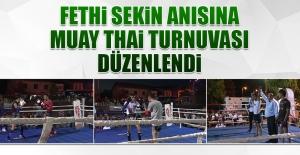 Fethi Sekin Anısına Muay Thai Turnuvası Düzenlendi