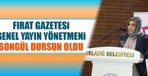 Fırat Gazetesi Genel Yayın Yönetmen Songül Dursun Oldu