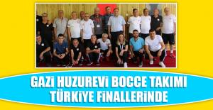 Gazi Huzurevi Bocce Takımı, Türkiye Finallerinde