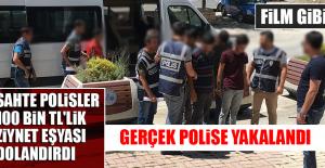 GERÇEK POLİSE YAKALANDI