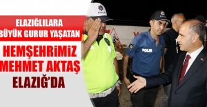 Hemşehrimiz Mehmet Aktaş Elazığ'da