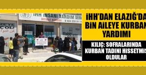 İHH'dan Elazığ'da Bin Aileye Kurban Yardımı