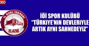 İÖİ Spor Kulübü: Türkiye'nin Devleriyle Artık Aynı Sahnedeyiz