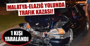 Malatya-Elazığ Yolunda Kaza! Yaralılar Var