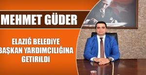 Mehmet Güder, Elazığ Belediye Başkan...