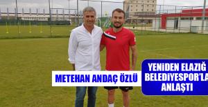 Metehan Andaç Özlü Yeniden Elazığ Belediyespor'la Anlaştı