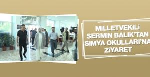 Milletvekili Balık'tan Simya Okulları'na Ziyaret
