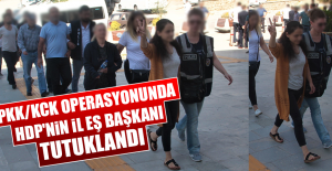 PKK/KCK Operasyonunda HDP#039;nin...