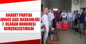 Sivrice İlçe Başkanlığı 7. Olağan Kongresi Gerçekleştirildi