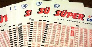 Süper Loto'da 6 bilen talihli 36,5 milyon liralık ikramiyenin sahibi oldu