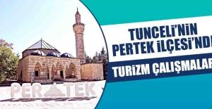 Tunceli'nin Pertek İlçesi'nde Turizm Çalışmaları