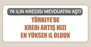 Türkiye'de Kredi Artış Hızı En Yüksek İl Olduk