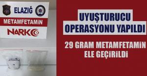 Elazığ'da Uyuşturucu Operasyonu Yapıldı