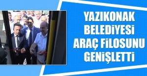 Yazıkonak Belediyesi Araç Filosunu Genişletti
