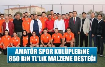 Amatör Spor Kulüplerine 850 Bin TL'lik Malzeme Desteği