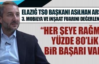 Başkan Arslan 3. İnşaat ve Mobilya Fuarını Değerlendirdi