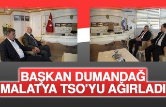 Başkan Dumandağ, Malatya TSO'yu Ağırladı