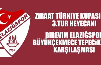 Birevim Elazığspor-Büyükçekmece Tepecikspor Müsabakası